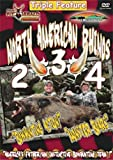 North American Rhinos 2, 3, 4 ~ Triple Feature Hog Hunting DVD