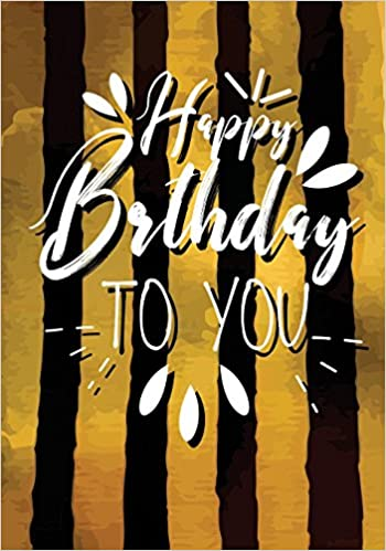 happy birthday to you keepsake journal notebook for best wishes messages doodling v36 birthday gifts for adults volume 16