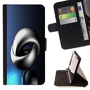 For Sony Xperia Z5 Compact Z5 Mini (Not for Normal Z5) Case , Resumen Shine- la tarjeta de Crédito Slots PU Funda de cuero Monedero caso cubierta de piel