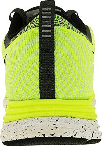Nike Kvinnor Flyknit En + Löparskor Neon Skrika