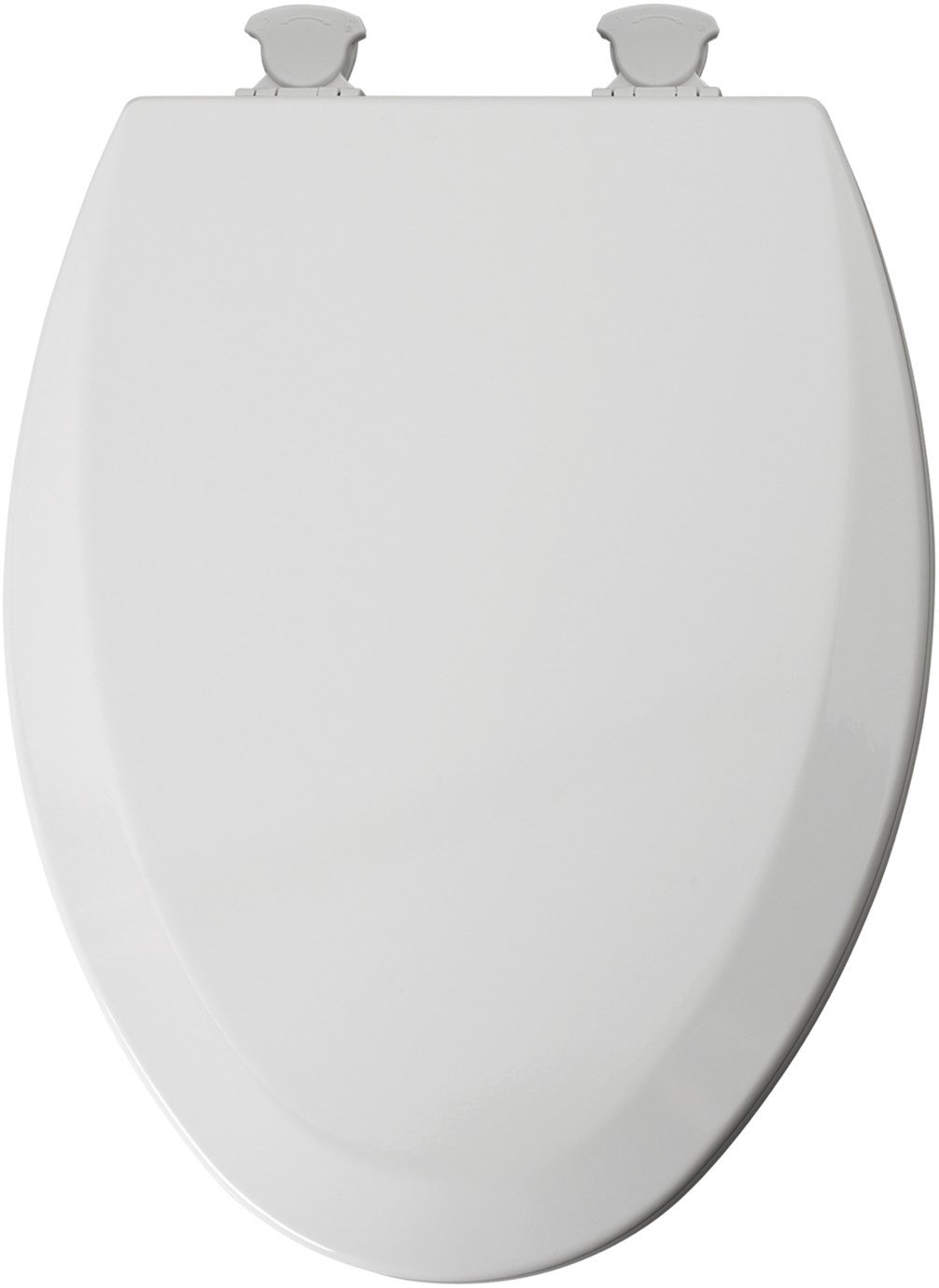 Mayfair 146EC 000 Molded Wood Toilet Seat with Lift-Off Hinges, Elongated, White