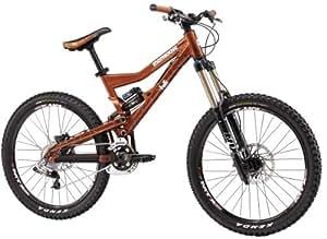 Mongoose Pinn'r Foreman Dual Suspension Mountain Bike - 26-Inch Wheels (Medium)