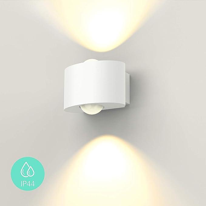 STRIPES muro esterno LED Lampada Esterno Lampada Lampada da parete muro Lampada Terrazzo LED 7w ip44
