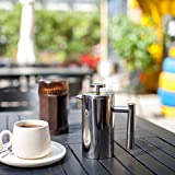AMOVEE French Press Coffee Maker Tea Maker, 304