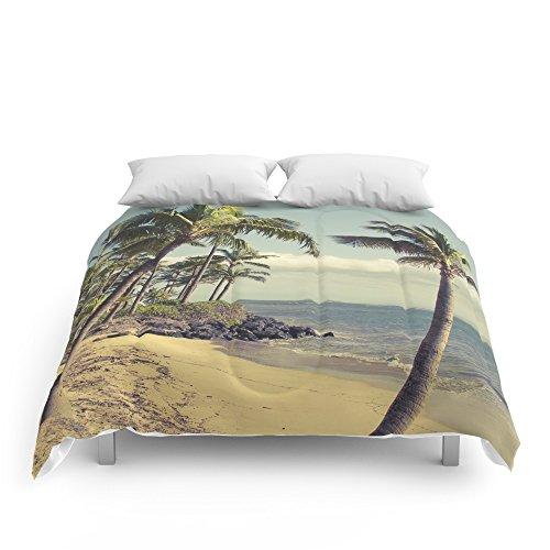 Society6 Maui Lu Beach Kihei Maui Hawaii Comforters King: 104'' x 88'' by Society6