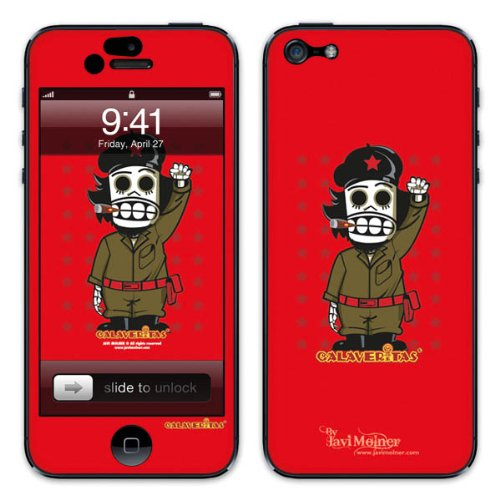Diabloskinz B0081-0066-0036 Vinyl Skin für Apple iPhone 5/5S Revolution