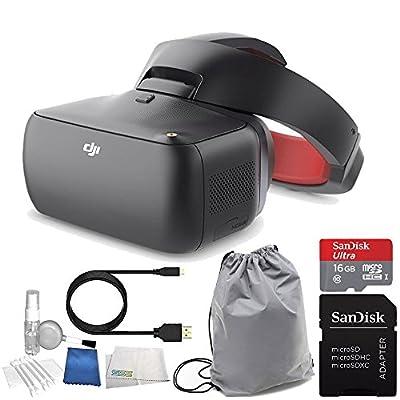 DJI Goggles FPV Headset (Racing Edition) Bundle with DJI Goggles Sleeve
