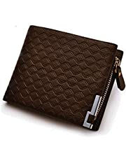 Pocket Wallet Dark Coffee Money Clip Card Holder