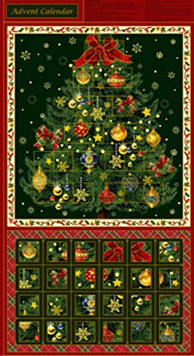 Advent Christmas Crafts (Christmas Ornament Advent Calender Panel 24