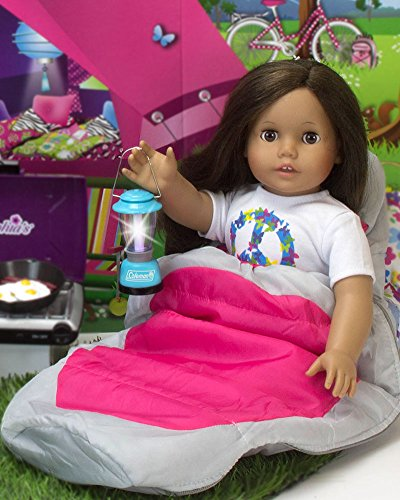 """Doll Clothes 18/"""" Sophia/'s Coleman Aqua Lantern Camping Sized For AG Dolls"""