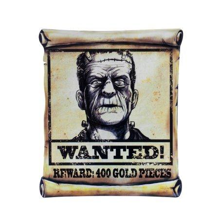 Wanted Poster Assortment Halloween Prop Decoration (Halloween Wanted Poster)