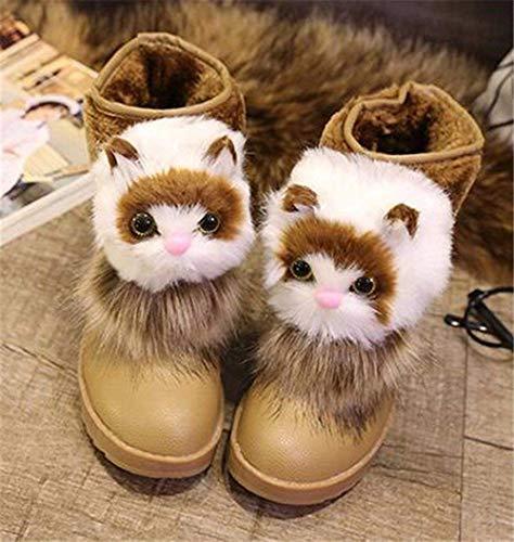 Cotton Stivali Winter Boots Warm Da 37 Eu Shoes Cartoon Deed Thick Cat Bottom A 's Donna 7d1qPwnRq
