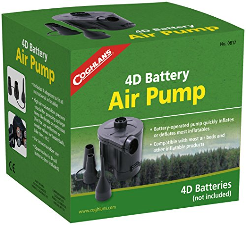 Coghlan's Electric Air Pump, Battery Powered (4d Adult Football)