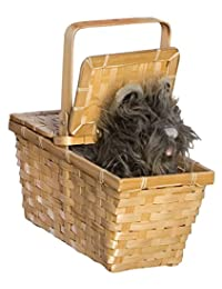 Rubies Costume Co Wizard of Oz Dorothy's Toto in a Basket