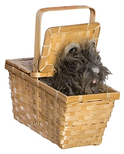 Wizard of Oz Dorothy's Toto in a Basket (Wizard Of Oz Costumes)