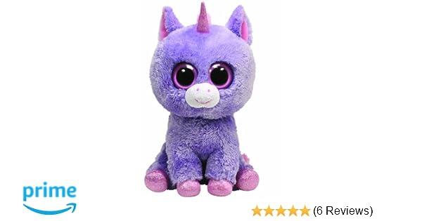 47b01675150 Amazon.com  Ty Beanie Boos Buddy - Rainbow the Unicorn  Toys   Games
