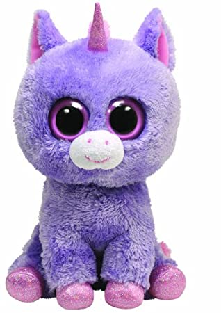 Ty Beanie Boos 7136930 Rainbow - Unicornio de peluche, 21,5 cm [importado