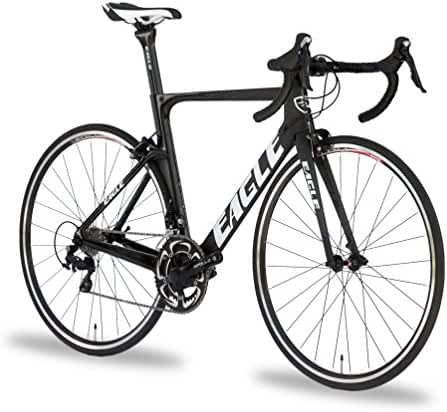 Eagle Carbon Aero Road Bike - US Assembled like Trek and Specialized - Matte Black