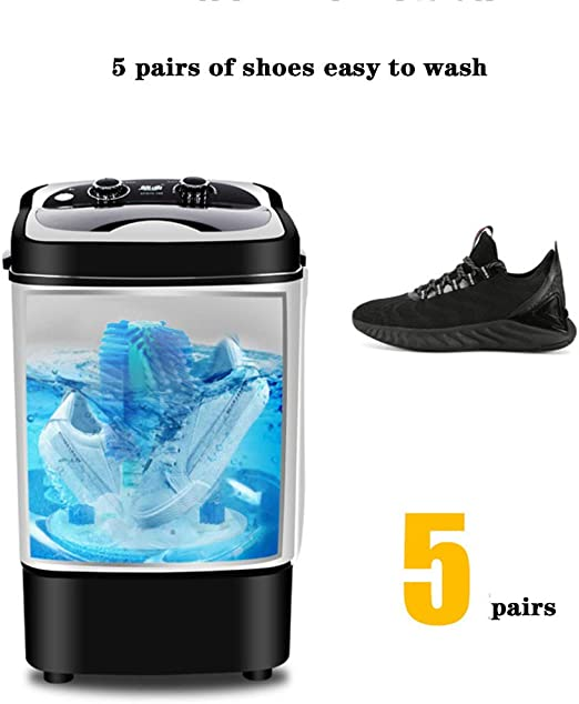 LRZ Lavadora de Zapatos ultrasónica portátil - Lavadora compacta ...