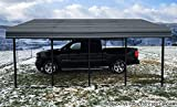 Arrow 20' x 20' 29-Gauge Metal Carport with Steel