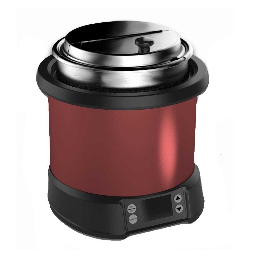 Vollrath 74110140 Mirage Red 11 Quart Induction Rethermalizer