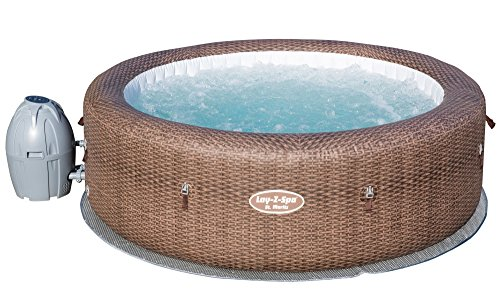 Lay-Z-Spa St Moritz Hot Tub, Airjet Inflatable Spa, 5-7 Person