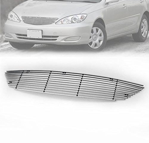 ZMAUTOPARTS Upper Billet Grille Grill Insert For 2002-2006 Toyota Camry