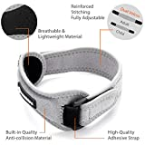 CAMBIVO Patella Knee Strap, 2 Pack Pain Relief Knee Brace, Patellar Tendon Support Band for Running, Hiking, Volleyball, Jumpers Knee, Tendonitis, Arthritis and Injury Recovery