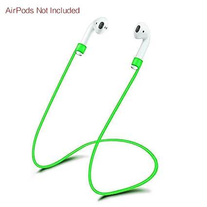 LEEBA - Cuerda de Silicona para Auriculares inalámbricos para Apple AirPods