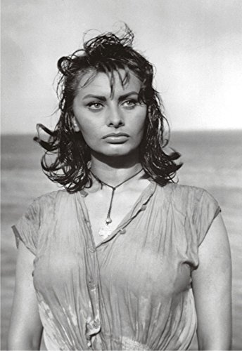 Sophia Loren, Movie Actress, Boy on a Dolphin, Souvenir Magnet 2 x 3 Photo Fridge Magnet ()
