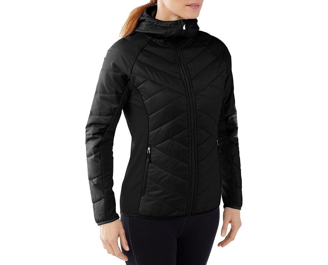 Smartwool Womens' Double Corbet 120 Hoody (Black) Large by SmartWool