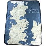 """Game of Thrones 46"""" X 60"""" Map Fleece Throw Blanket"""