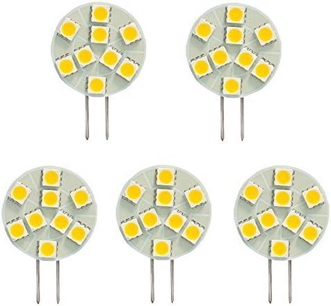 Side pin G4 15 SMD LED Bulb White for Marine Boat Sailboat Yacht  Interior Light