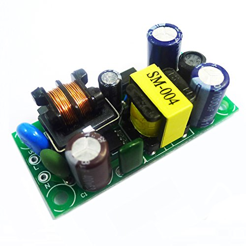 HOMREE AC to DC 5W Power Converter Module 5V 1A Switching Power Supply Board AC 85-265V Variable Input with Indicator Ac Dc Converter Circuit