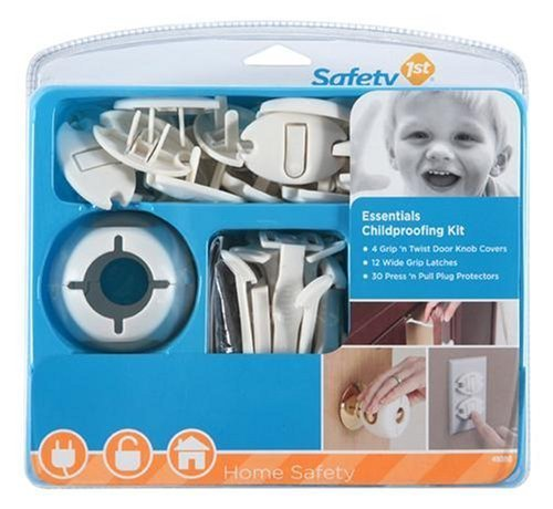 Safety 1st Essentials Child Proofing Kit- 46 Piece New Born, Baby, Child, Kid, Infant by Baby & Child
