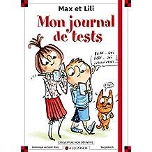 Max et Lili - Carnets de tests: Découvre qui tu es !