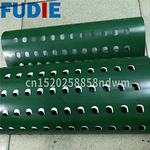 Fevas Itracking Guide Conveyor Belt ndustrial PVC Pattern Conveyor Belt.Black PVC Conveyor Belt - (Width: Different Width, Length: Different Length)