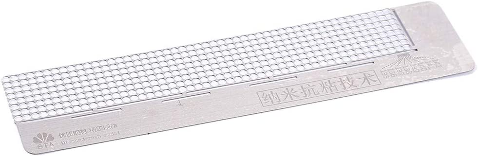 Cngstar 5D Diamond Painting Kit Ruler Stainless Steel Ruler Must Have for Diamond Painting Round Full Drill Partial Drill,Size 1