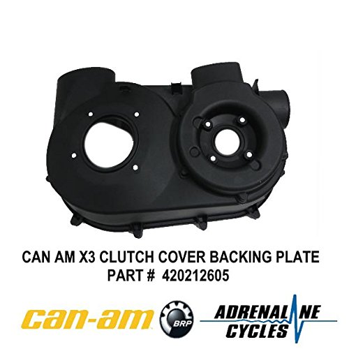Can Am Maverick X3 XDS XRS CVT Air Guide Clutch Back Plate Cover OEM NEW #420212605 -