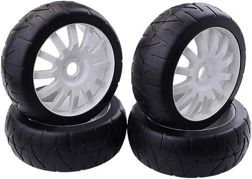 FLAMEER RC Neumáticos de Rueda Recambio de Accesorios para 1:8 RC Coche Buggy Rock Crawler