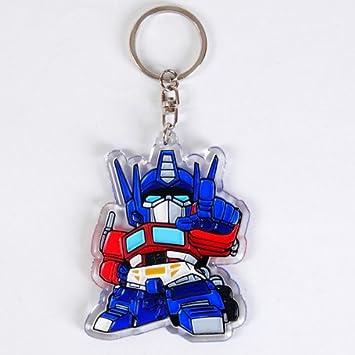Amazon.com: Transformers Optimus Prime Llavero Anillo ...