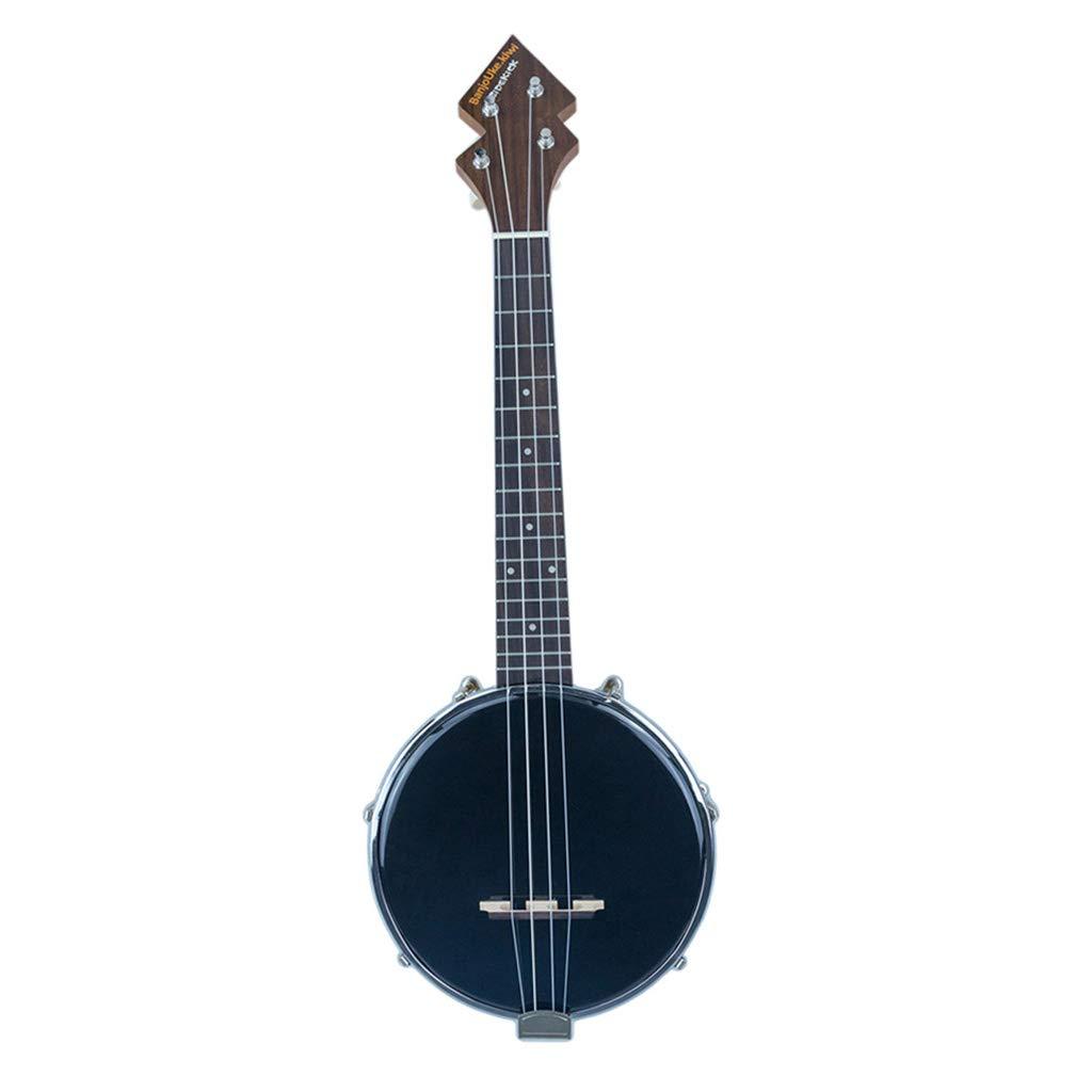 Baosity 4 String Banjo Ukulele Concert Uke 26inch w/Carry Bag Tuner for Beginner