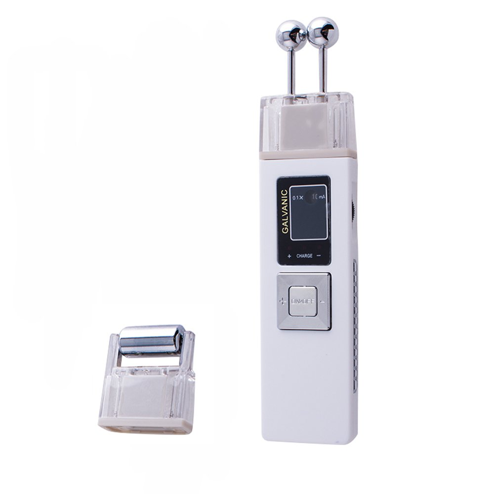 Genmine Portable Galvanic Microcurrent Facial Machine Skin Firming Massage Device Anti -aging Massager Skin Care Spa Salon