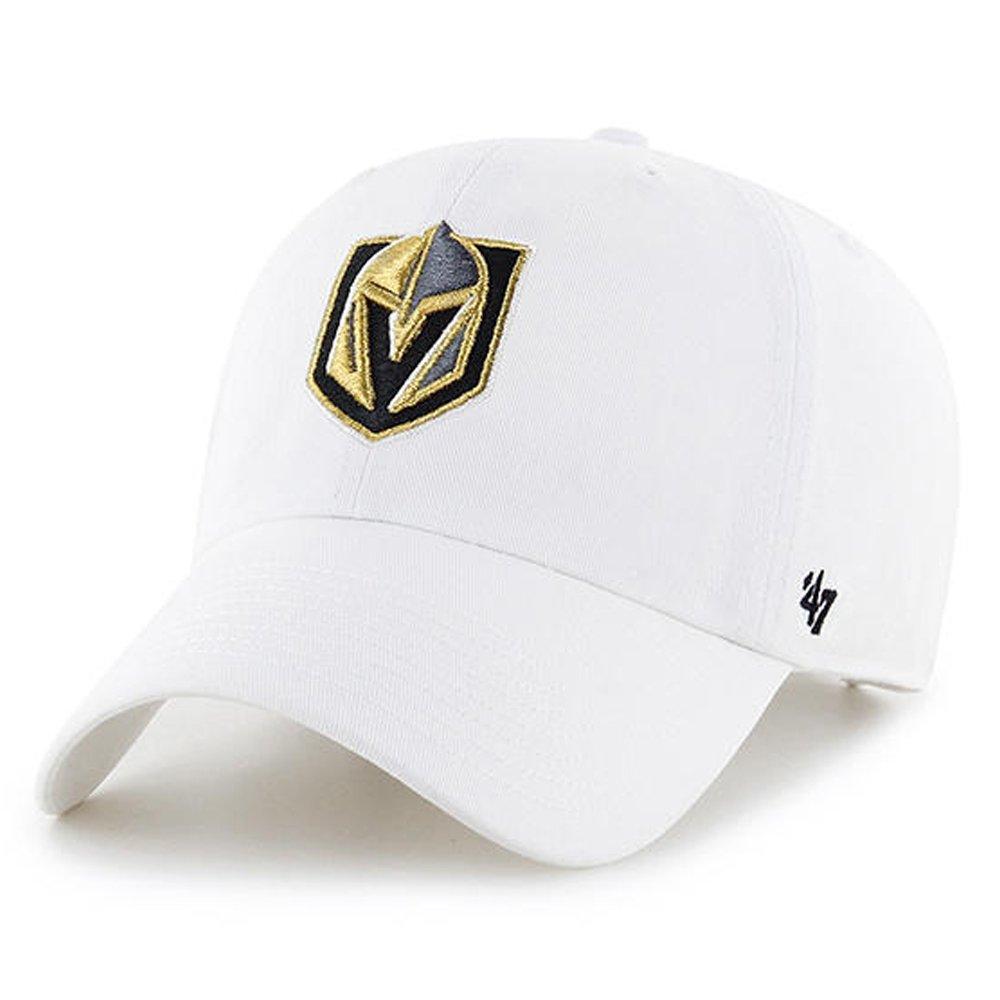 '47 Brand Las Vegas Golden Knights Clean up Dad Hat Cap White/Gold