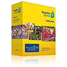 Learn English: Rosetta Stone English (American) - Level 1-5 Set (Download Code Included)