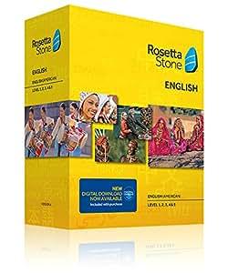 Rosetta Stone Totale English Level 1, 2, 3, 4 & 5: English (American): Version 4
