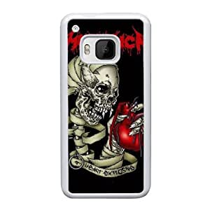 HTC One M9 Cell Phone Case White Metallica YT3RN2530500