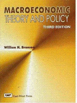 Macroeconomics theory and policy pdf
