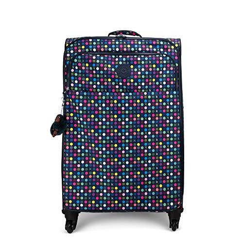 Kipling Parker Large Printed Rolling Luggage K Multi Dots (Kipling Handbags On Sale)