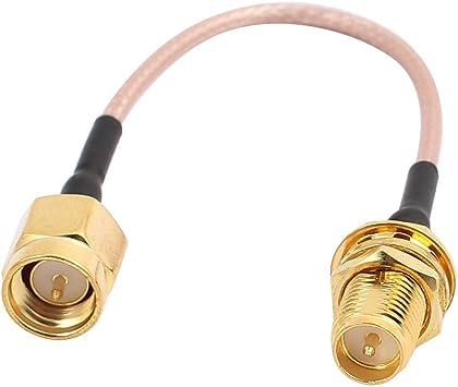 Aexit Gold SMA - Cable coaxial de Audio Macho a RP-SMA Macho ...